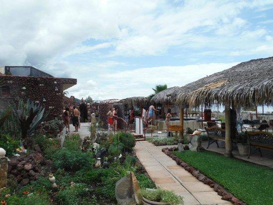 San Juan Cosala, Μεξικό: Entrada al spa