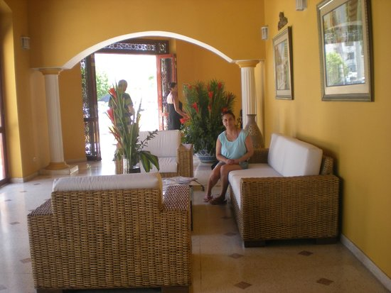 Hotel San Martin Cartagena: Hall del Hotel
