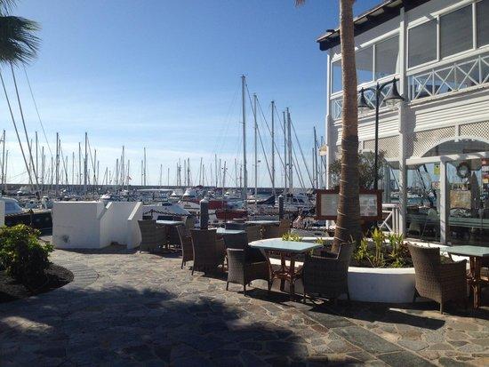 Hotel THe Volcán Lanzarote: Marina