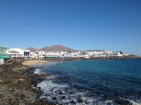 Hotel THe Volcán Lanzarote: Promenade