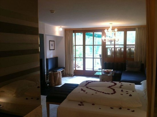 Hotel & Spa Rosa Alpina: chalet loft