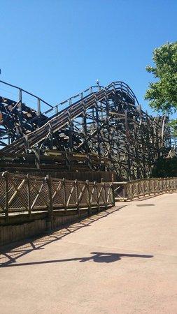 PortAventura Park: Wooden rollercoaster