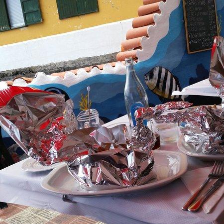 Tambo : Spaghetti (décoration aluminium de 2 cygnes/oiseaux)
