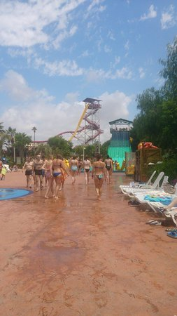 PortAventura Aquatic Park: Big slides