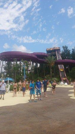 PortAventura Caribe Aquatic Park: 4 person slide
