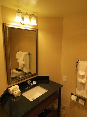 BEST WESTERN PLUS Heritage Inn: Bathroom