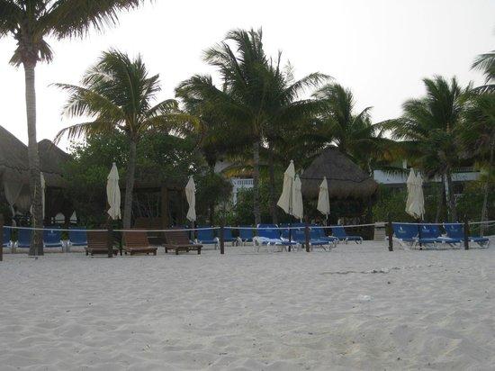 Azul Beach Resort The Fives Playa Del Carmen: a very early morning at the beach