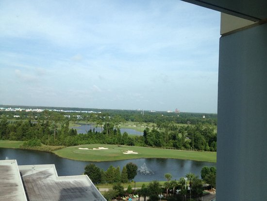 Hilton Orlando Bonnet Creek: View from our hotel room