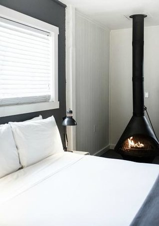 boon hotel & spa : snuggle up on a chilly morning