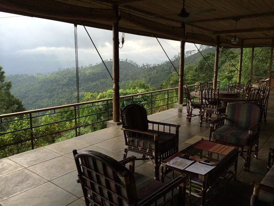 Rangala House: View from porch .