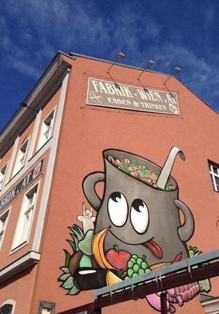 Hotel Fabrik: Hier ist man richtig :-)