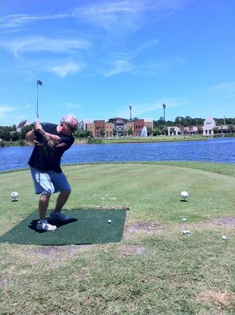 World Golf Village Renaissance St. Augustine Resort: LOVE the golf challenge!