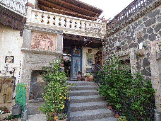 Sofa Hotel: vue prise dans la cour intérieure