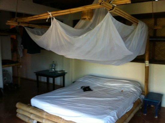 Bambu Ecocabanas: Schlafzimmer