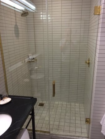 Refinery Hotel: Shower