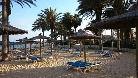 SBH Costa Calma Beach Resort: hoteleigener badestrand