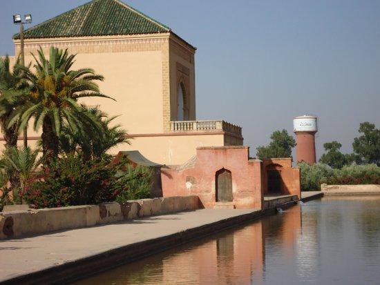 Menara Gardens and Pavilion : Jardim Menara