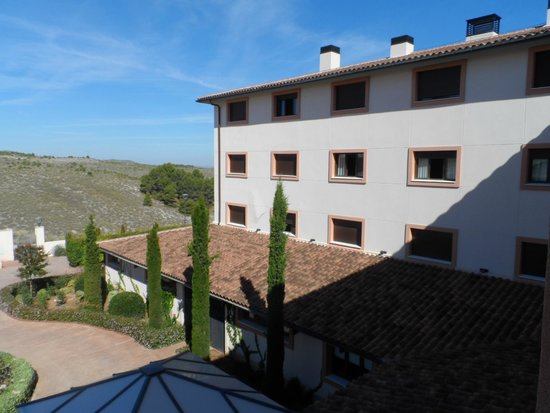 Hacienda Castellar: view from room towards others