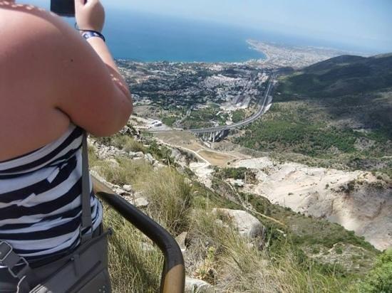 Teleferico Benalmadena : view over fuengirola