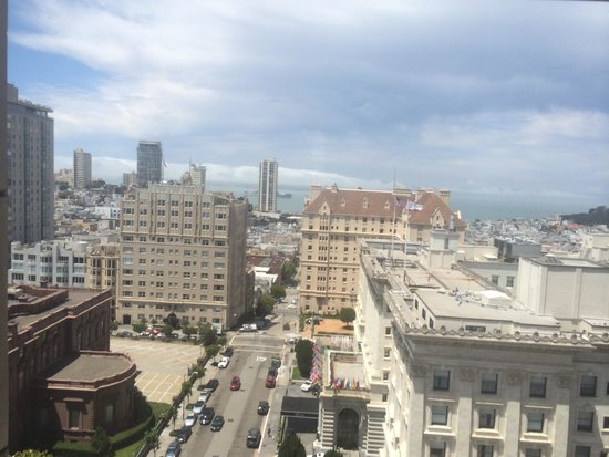 InterContinental Mark Hopkins San Francisco: Other great view!