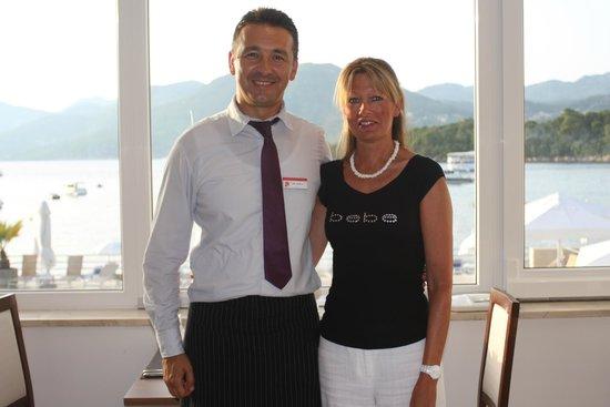 TUI SENSIMAR Kalamota Island Resort : Mladen the waiter