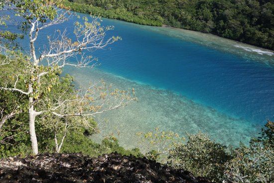 The Remote Resort - Fiji Islands: View to Hidden Beach at Remote Resort