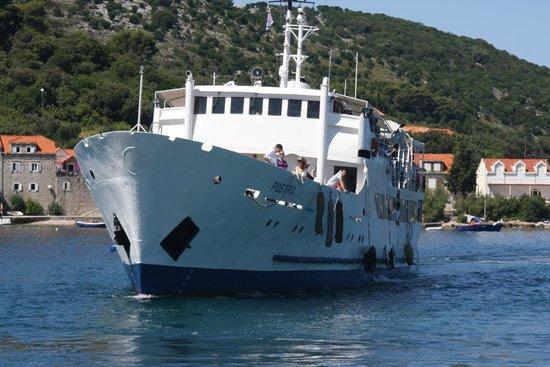 TUI SENSIMAR Kalamota Island Resort : ferry
