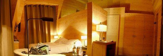Unique Hotel Post : Notre mini-suite, très cosi et confortable