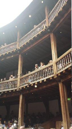 Shakespeare's Globe Theatre: Globe Theatre seating area