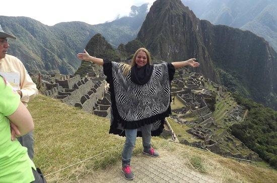 Santuario Histórico de Machu Picchu: OBRIGADA MEU DEUS