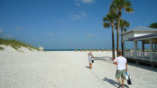 Clearwater Beach : Praia!