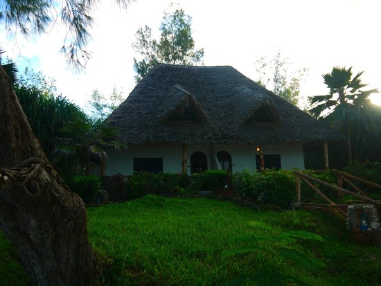 Pongwe Beach Hotel: one of the bungalows