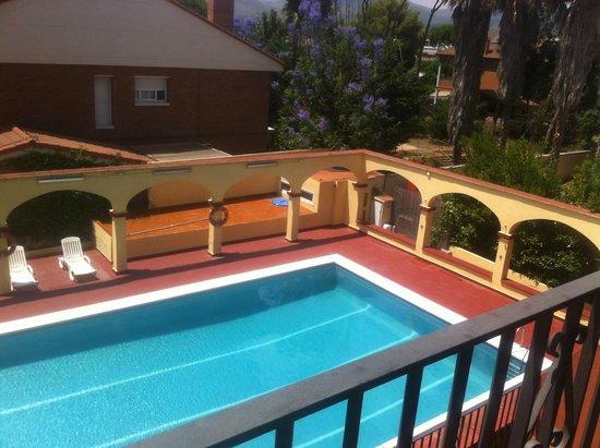 Hotel Canal Olimpic: Вид с балкона
