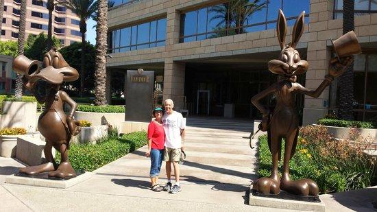 Warner Bros. Studio Tour Hollywood: Start of tour