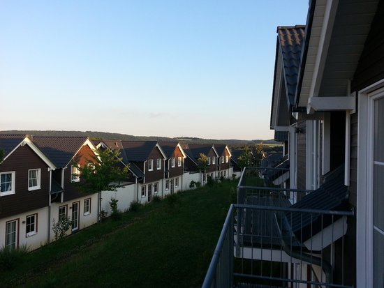 Lindner Ferienpark Nuerburgring : a view from our balcony