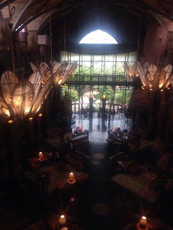 Disney's Animal Kingdom Lodge : Loby (view from 6th floor)