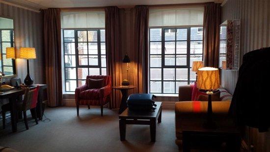 The Soho Hotel: So airy.
