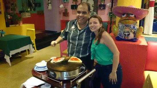 Grand Oasis Sens: Restaurante Mexicano super recomendado. Una atención super especial
