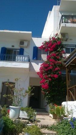 Kalypso Hotel Elounda: Дома вдоль набережной бухты