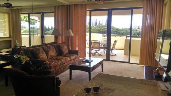 The Kapalua Villas, Maui: Living Room