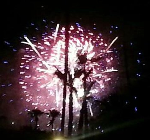 INNdulge: Fourth of July Fireworks - from nearby field visible from the resort