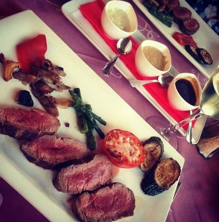 Coeur de Filet : Chateaubriand steak for two
