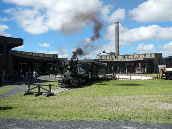 Georgia State Railroad Museum: Steam locomotive