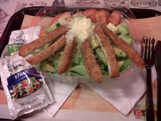 El corral : salada mediterranea