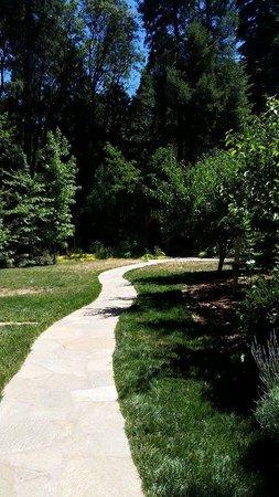 Harmony Ridge Lodge: Beautiful walkways
