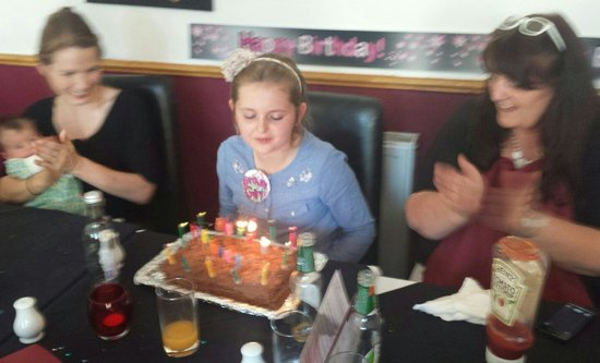 India Restaurant: Happy birthday Annie