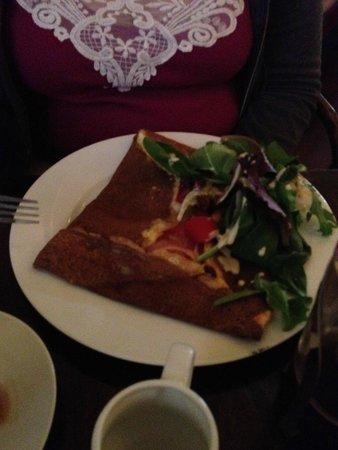 Paris Crepes Cafe: Bofts Savory Crepe