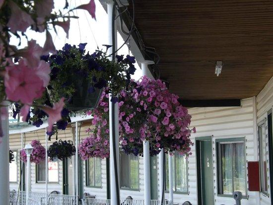 Kootenay Country Inn: Upper Level Baskets