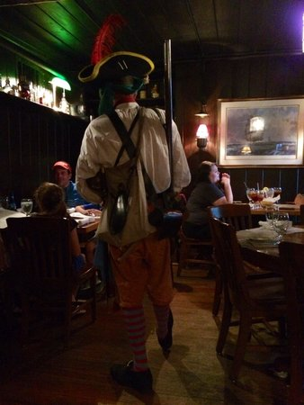 The Pirates' House: Pirates entertain little guests