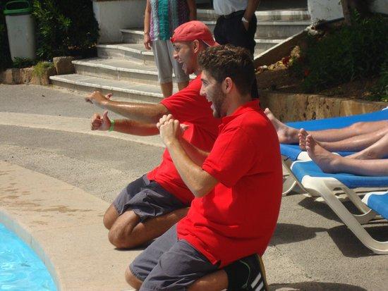 Complejo Calas de Mallorca : aqua gym